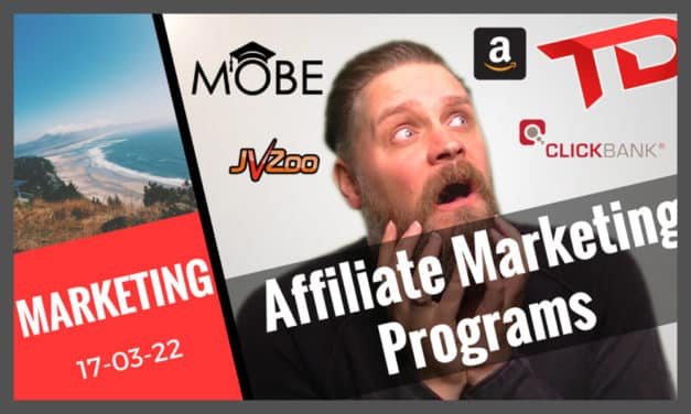 Affiliate Marketing Programs – Which one should you choose?
