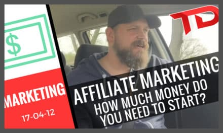 Affiliate Marketing – How much money do you need to invest?