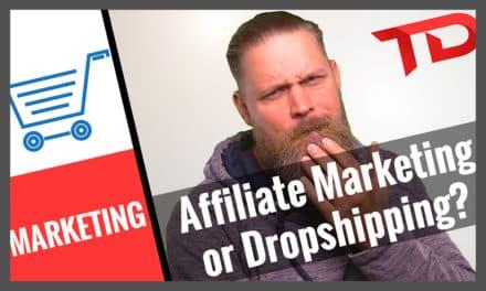 Afffiliate Marketing VS Dropshipping