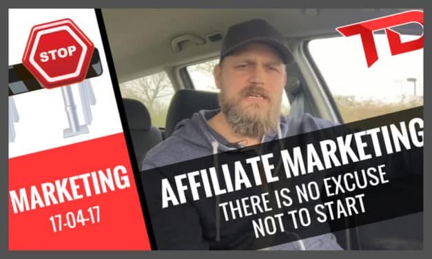 How to build your Affiliate Marketing Business – No excuses – No boundaries