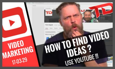 How to find YouTube Video Ideas 3 – Use YouTube