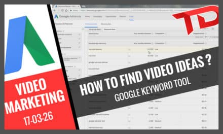 How to find YouTube Video Ideas – Keyword Planner