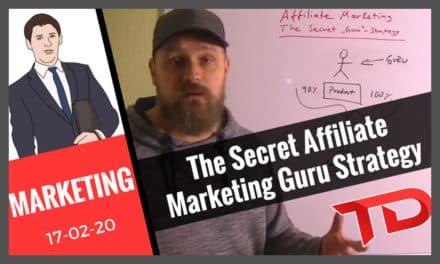 The Secret Affiliate Marketing Guru Strategy