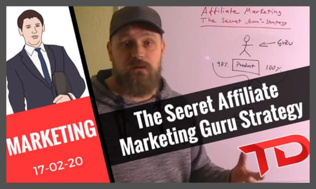 The Secret Affiliate Marketing Guru Strategy