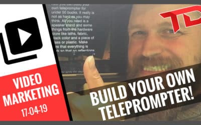 Video Marketing Building your own teleprompter for under 50 bucks
