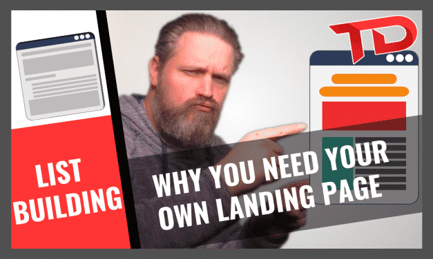 Why you need your own landing page as affiliate marketer